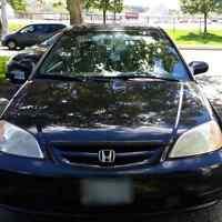 2004 Black Honda Civic Manual! Exellent Condition!