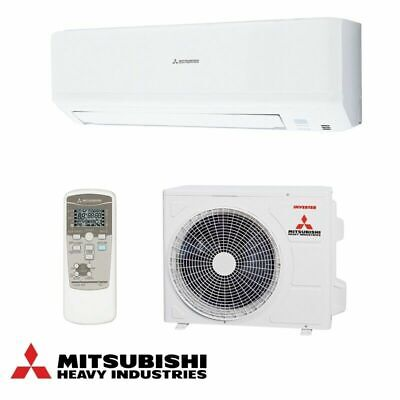 Mitsubishi Air Conditioning 2.5kw - Wall Heat Pump R32 Domestic Air Con System
