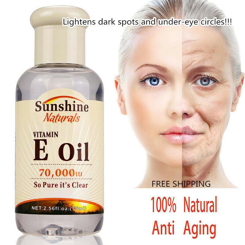 Natural Vitamin E Pure Jojoba Oil Organic Hair Essence Oil A