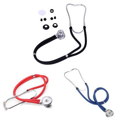 Doctor Nurse Stethoscope Dual Head Auscultation Vet Medical Health Care Pro