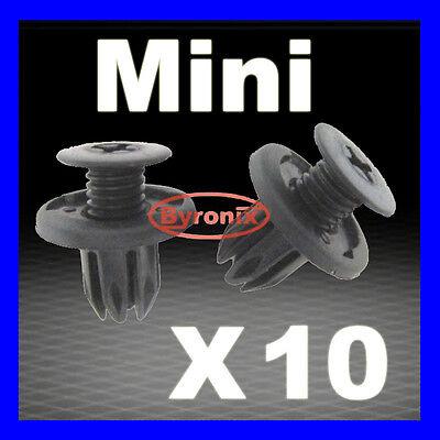 MINI SIDE SILL SKIRT TRIM CLIPS FASTENERS R50 R52 R53 R56 R57 R58 R59 R60