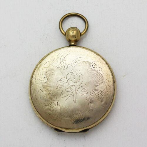 Antique Hand Engraved 45mm Gold Filled Locket