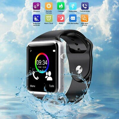 Bluetooth Smart Wrist Watch Touch Control GSM Phone Kids & Teenager Watch -