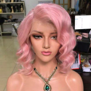 BRAND New 100% European human hair wig pink lace front New Farm Brisbane North East Preview