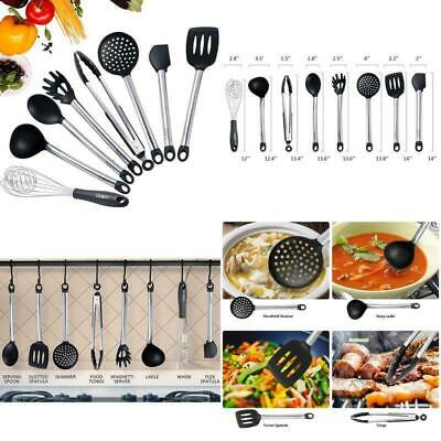 8×Kitchen Aid Nonstick Utensils Set Best Cooking Tools Stainless Steel (Best New Cooking Tools)