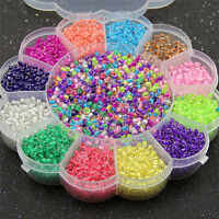 Multicolor 2mm Glass Seed Spacer Small Round Beads&box Set For Jewelry Making Sk - unbranded - ebay.co.uk