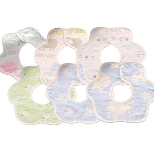 Halstuch 100% Baumwolle für Mädchen und Jungen Baby abwaschbar Kinder Lätzchen