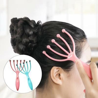 - Five Finger Relax Massager Head Hair SPA Scalp Neck Stress Release Steel Ball