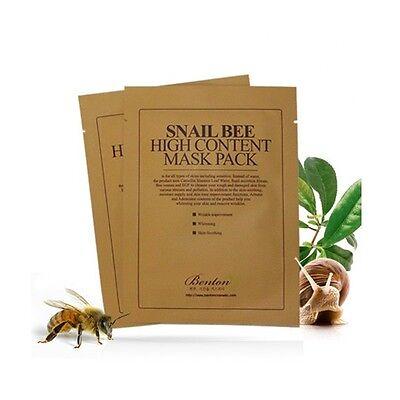 [BENTON]  Snail Bee High Content Mask Pack 20g x 5pcs / BEST Korea Cosmetic