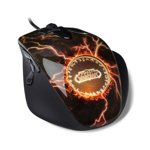 Limited SteelSeries World of Warcraft Legendary MMO Gaming Mouse