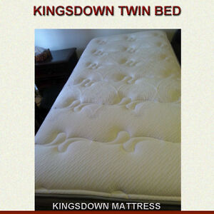KINGSDOWN MATTRESS / BOX SPRING / BED FRAME - FREE DELIVERY