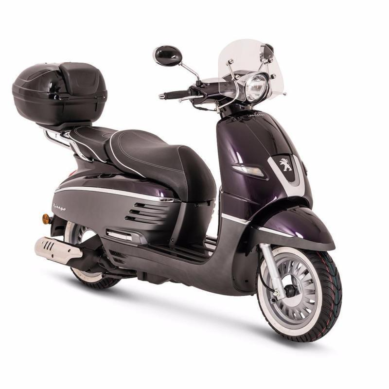 2016 peugeot django allure retro 50 brand new vespa style. Black Bedroom Furniture Sets. Home Design Ideas