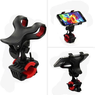 Universal Motorcycle Bicycle MTB Bike Handlebar Clip Mount Holder for Phone GPS
