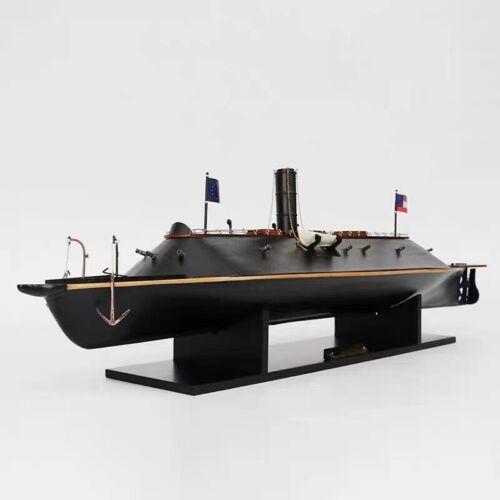 CSS Virginia Civil War Ironclad Confederate Navy Ship Model 33