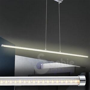 Dettagli su Lampadario sospensione LED 12W design moderno lungo 114 cm ...