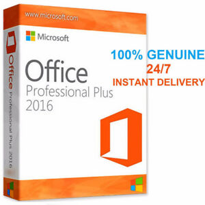Microsoft Office 2016 Professional PLUS+ Genuine Product Key
