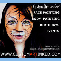 PROFESSIONAL FACE PAINTING!!