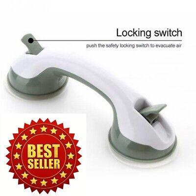 Bath Shower Grip Handle Bathroom Suction Grab Bar Safety Cup Rail Tub Support