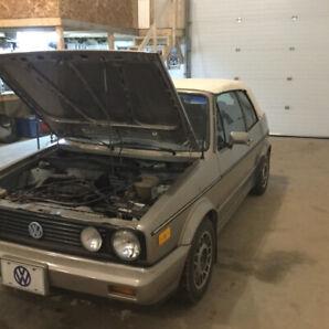 1989 VW convertable