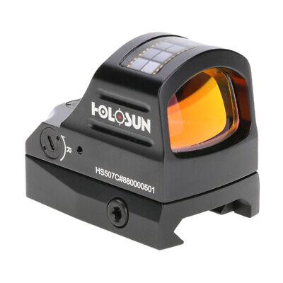 HOLOSUN HS507C 1X Reflex Sight Dual Power Selectable Reticle