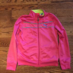 Girls Puma zip up