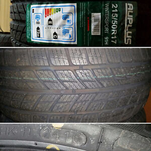 """17"""" never used winter tires"""
