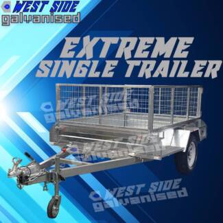 ✌8x5 EXTREME-Heavy-Duty Trailer galvanized and BRAND-NEW✌