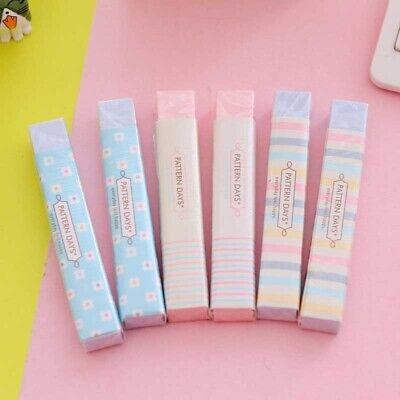 Colorful Rubber Eraser Pencil Erasers for Kids Teacher School Stationary