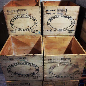 Butter Crates for sale www.torontocrates.com