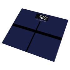 Hot Digital Bathroom Body Glass Weight Heath LCD Scale 180kg/100g 396lb