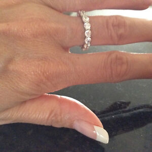 Cubic Zirconia Eternity Band London Ontario image 2