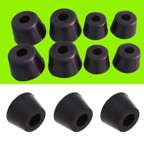 20 Pcs Rubber Instrument Case Non-slip Cabinet Box Foot Bumpers Feet 17*11*13mm