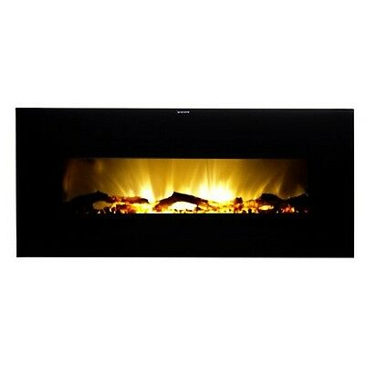 Warm House Valencia Widescreen Fold up-Mounted Stirring Fireplace W/Obscure Pilot