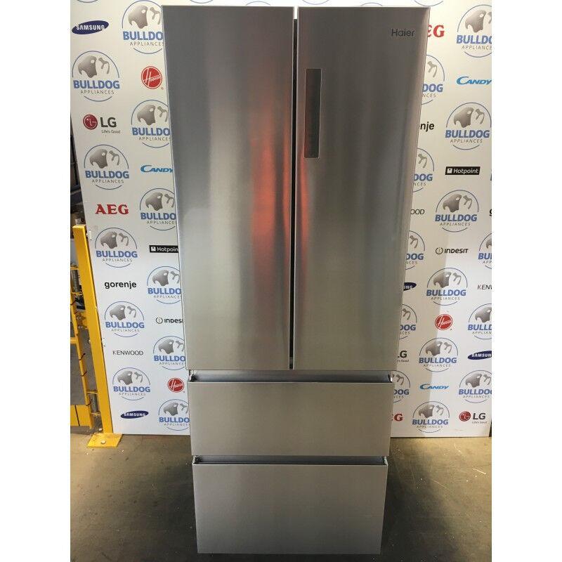 haier american fridge freezer. haier hb16fmaa 60/40 american style fridge freezer - stainless steel haier e