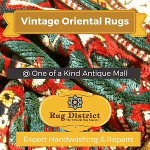 Vintage Persian & Oriental Rugs   One of a Kind Antique Mall