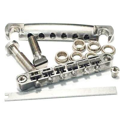 mm Faber Tone Lock Tailpiece Kit Aged//Relic Nickel, Metric