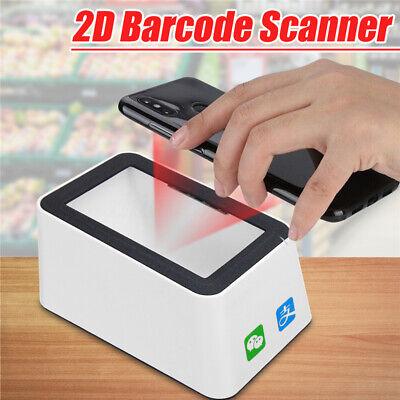 Hands-free 1d 2d Qr Usb Ccd Barcode Scanner Reader Qr Code Screen Scanner