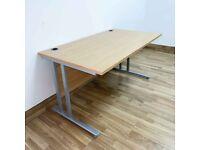 FREE SAME-DAY DELIVERY - 1200mm Wide Cantilever Office Desks