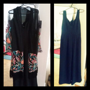 Jumpsuit with Tags and Kimono/Cardigans