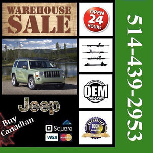 Jeep Patriot ■  Crémaillère ► Rack and Pinion (OEM)