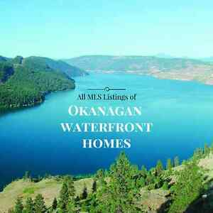 All MLS Listings of Okanagan Waterfront Homes