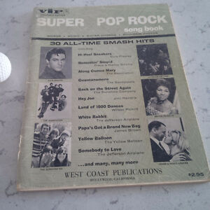 Super Pop Rock Song Book