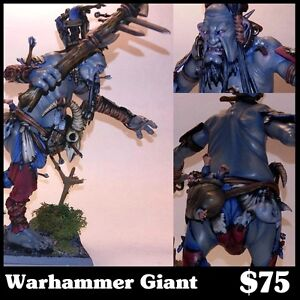 Painted Warhammer Giant Model