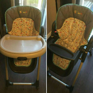 Winnie the Pooh high chair Kitchener / Waterloo Kitchener Area image 1