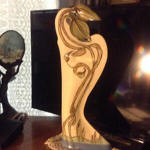 Antique Art Nouveau Vase Marked Hand Painted