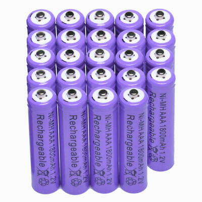 24x AAA 1800mAh 1.2 V Ni-MH rechargeable battery for MP3 RC Toys Camera