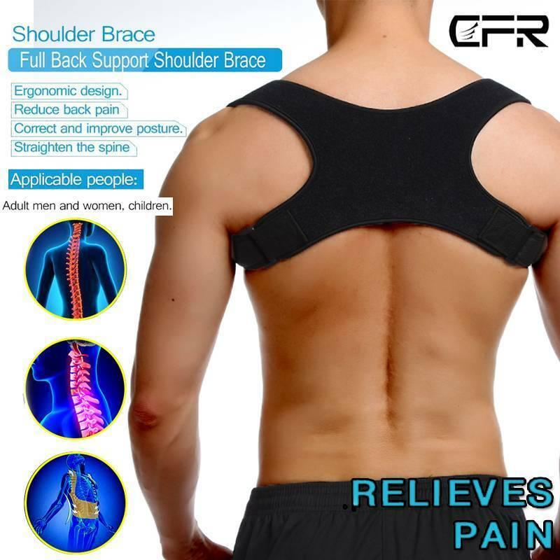 CFR Posture Corrector Back Shoulder Support Correct Brace Be
