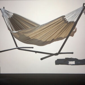 Very Durable Portable (easy set up) lawn, patio Hammock! *NEW*!