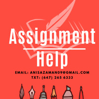 Ottawa ASSIGNMENT HELP! Essays, Thesis, Coursework, Reports