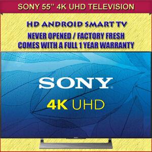 "BRAND NEW FACTORY FRESH 55"" SONY 4K TV - WARRANTY INCLUDED"